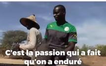 Vidéo-Après sa carrière de footballeur, Ferdinand Coly se reconvertit en agriculteur...