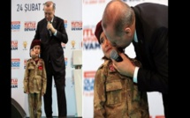 Turquie: Le président Erdogan crée la polémique pour avoir incité une fillette à mourir en martyr (Vidéo)