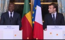 Suivez en direct la Déclaration conjointe d'Emmanuel Macron et de Patrice Talon (Présidence de la République du Bénin)
