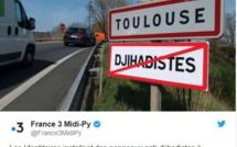 Toulouse : Des panneaux anti-djihadistes à l'entrée de la ville