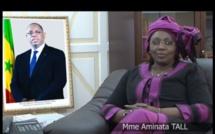 Madame Aminata Tall, Présidente du Conseil Economique Social et Environnemental parraine le Président Macky Sall pour sa Réélection au premier tour de la Présidentielle de 2019