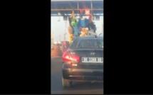 Un camion hyper surchargé sur l'autoroute à péage, défraie la chronique