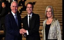 Australie: Emmanuel Macron fait une grosse boulette au sujet de la Première dame (vidéo)