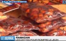 Ramadan: Prix et consommation des dattes pour rompre le jeûne (Reportage)