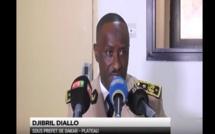 Le sous-préfet de Dakar, M. Djiby Diallo s'en prend à Bamba Fall