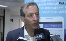 S.E Christophe Bigot visite les locaux de la nouvelle plateforme de développement In Touch