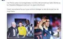 Amical Sénégal-Croatie: Le tweet plein d'humour de Diamil Faye sur Ivan Perisic