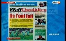 Revue de Presse WalfTv du mercredi 20 juin 2018 en images