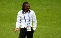 La célébration d'Aliou Cissé, le sélectionneur sénégalais, déjà mythique !
