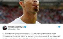 Cristiano Ronaldo explique sa célébration du bouc (qui n'est pas un chambrage envers Messi)