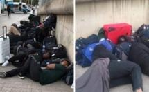 Tunisie : Incroyable, l'équipe de rugby du Zimbawe dort dans la rue. La raison (Photos)