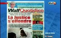Revue de Presse WalfTv du vendredi 20 juillet 2018 en images