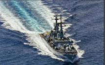 Campagne d'instruction: Le Contre-torpilleur « Luigi Durand de la Penne»  de la marine italienne fait escale à Dakar