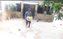 Vidéo : Graves inondations à Thiès, quartier Sam Pathé, plusieurs familles dans la rue
