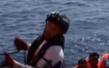 Vidéo- Histoire émouvante: Sauvé  par l'Aquarius, il devient sauveteur bord du bateau qui vient au secours des migrants
