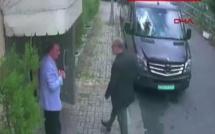 Images de vidéosurveillance montrant Jamal Khashoggi arrivant au consulat saoudien d'Istanbul, le 2 octobre 2018.