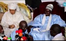 """VIDEO - Serigne Bass Abdou Khadre à Ndèye Saly Diop Dieng : """"Touba n'est pas un lieu de congrès ou de meeting politique"""""""