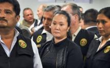 Keiko Fujimori, leader de l'opposition péruvienne, placée en détention pour corruption
