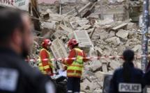 Vidéo - Les images des immeubles effondrés de la rue d'Aubagne à Marseille