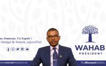 """Lancement de """"Wahab Président"""" à la place Souvenir avec Abdou Wahab BEN GELOUNE"""