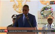 Vidéo : Macky Sall magnifie l'exemplarité et la discipline des forces armées sénégalaises
