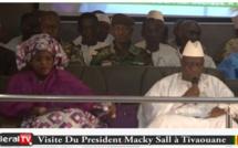 Vidéo- Gamou 2018 : le discours du président Macky Sall à Tivaouane