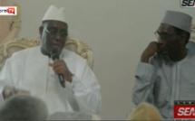 Ndiassane: Le président de la République accueilli par le khalife Cheikh Mohamed Kounta