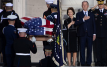 Obsèques nationales de George H. W. Bush, l'Amérique un temps réconciliée