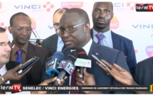 """Vidéo - Mouhamadou Makhtar Cissé : """"Vinci Energies va permettre un transfert des compétence et employer à terme 500 à 600 Sénégalais"""""""