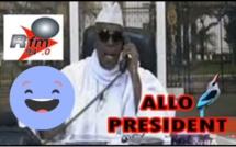 Allô Président : Macky Sall, le candidat appelle au Palais et demande après son Bandioli (paon)