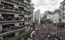Marée humaine à Alger contre la candidature du président Bouteflika