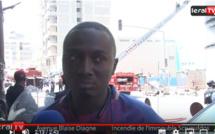 Incendie sur l'avenue Blaise Diagne : « il n'y avait pas de branchements irréguliers », selon un témoin