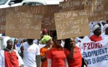 Direct - Sit-in du Collectif contre les violences faites aux femmes à la Place de la Nation