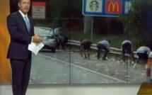 Vidéo - États-Unis : Un fourgon blindé déverse des milliers de dollars sur une autoroute