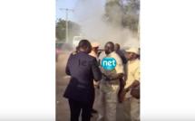 Vidéo choc: Macky Sall évacué du véhicule présidentiel qui a pris feu. Regardez !