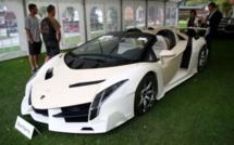 Suisse: 25 voitures de luxe de Teodorin Nguema Obiang vendues aux enchères