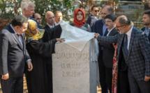 Un an après l'assassinat de Jamal Khashoggi, une stèle inaugurée à Istanbul