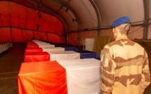France: Hommage aux 13 soldats tués au Mali en présence d'Ibrahim Boubakar Keïta