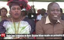 FINALE ZONE 7A NDIAFFATE - Aïssata NDIAYE recadre les responsables de l'APR