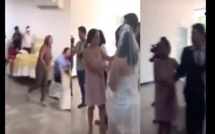Une femme s'invite à un mariage, gifle la mariée et déclare son amour au marié