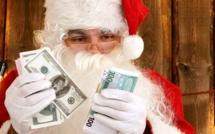 """États-Unis : un sexagénaire braque une banque et distribue les billets volés  en criant """"Joyeux Noël"""""""