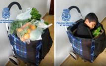 Un couple marocain arrêté à la frontière espagnole: il cachait un enfant dans leur chariot de courses