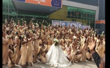 Nigeria: Elle organise son mariage avec 200 demoiselles d'honneur (vidéo)