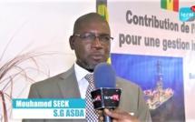 """VIDEO - Mouhamed Seck, SG ASDA: """"Cet atelier dédié à l'expertise Sénégalaise locale pour la bonne gestion..."""""""
