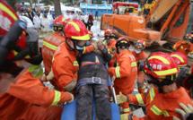 Un hôtel s'effondre dans le sud-est de la Chine, une trentaine de personnes sous les décombres