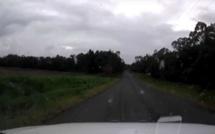 Au bout de cette route, cet automobiliste va avoir une très mauvaise surprise ! (vidéo)