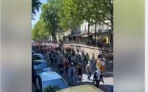 VIDEO-Marche des solidarités à Paris pour la régularisation des sans papiers. Le cortège s'élance malgré l'interdiction de rassemblement