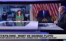 VIDEO/ Mort de George Floyd : Trump déploie 18 000 soldats de la Garde nationale dans 29 États