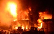 Urgent ! Encore un incendie à Pikine Technopôle (En Direct sur LERAL TV)