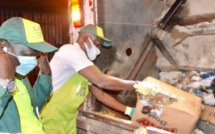 Lancement de l'opération de collecte nocturne des déchets à Dakar. (Photos)
